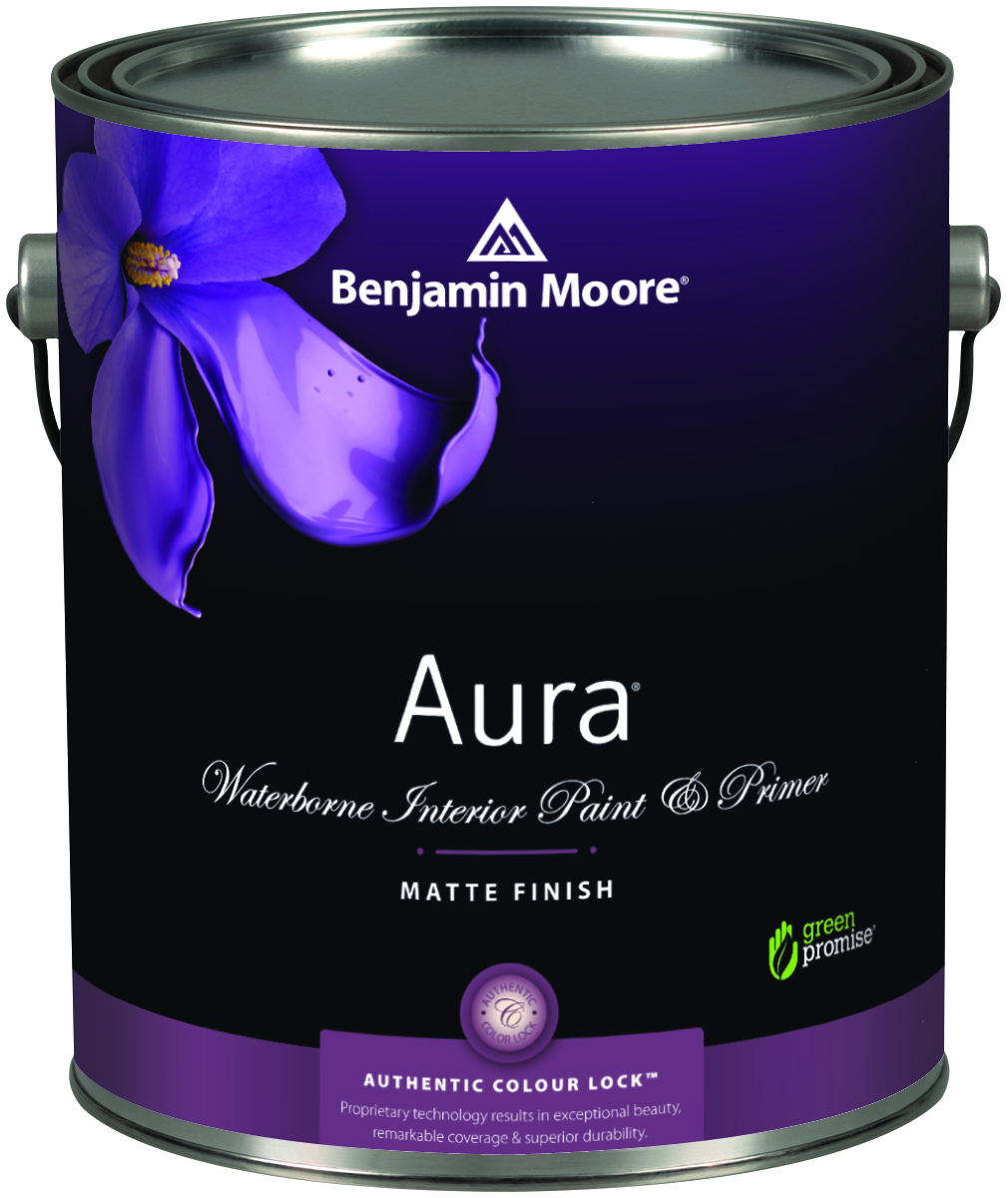 Benjamin moore paint wm dyck sons for Benjamin moore aura interior matte 522