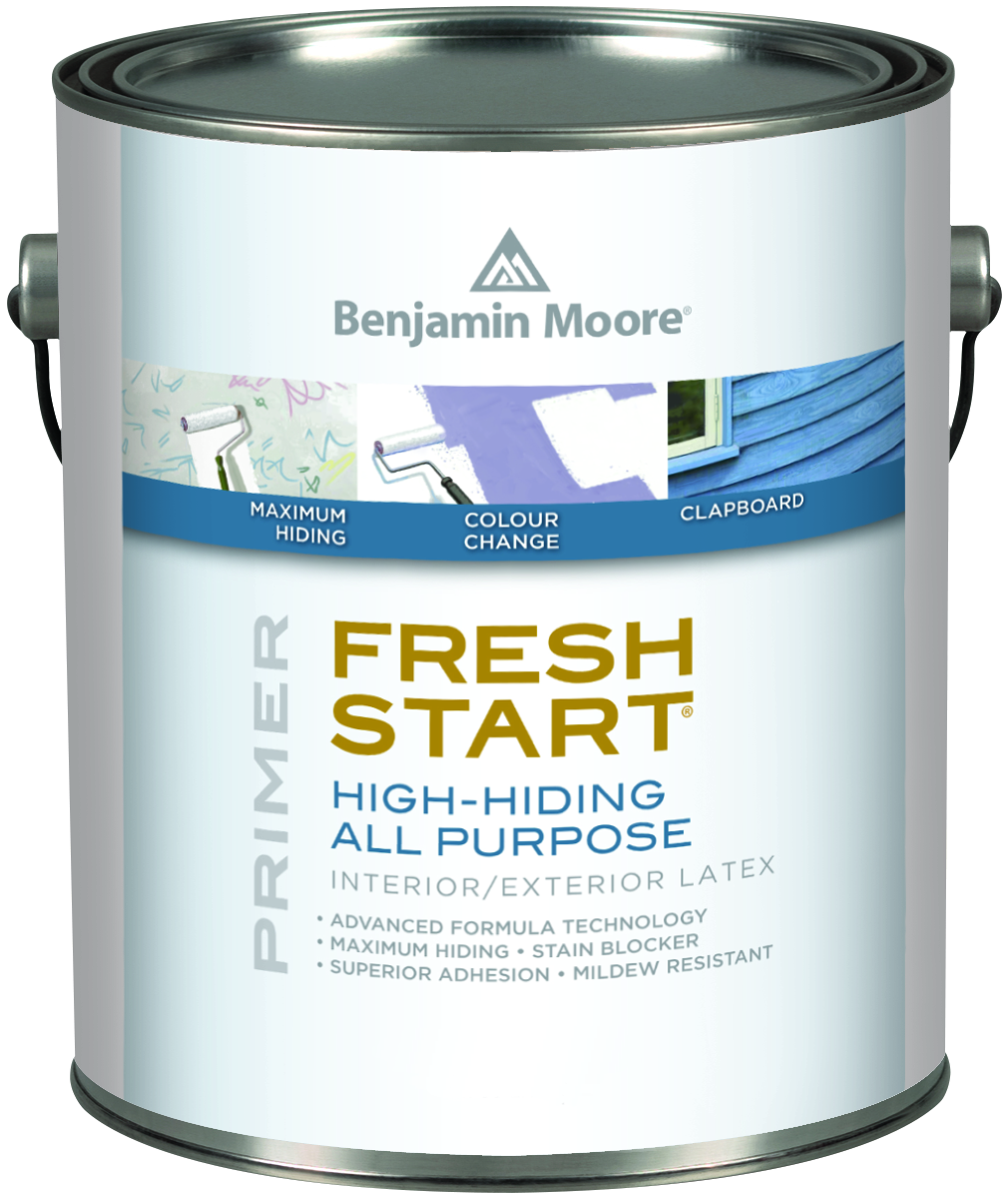 Benjamin moore paint wm dyck sons for Benjamin moore exterior paint with primer