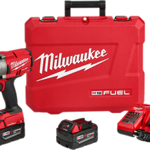 Milwaukee – 2864-22 – M18 FUEL™ w/ ONE-KEY™ High Torque Impact Wrench 3/4″ Friction Ring Kit