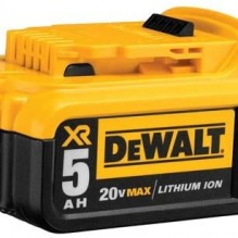 DEWALT – DCB205 – 20V MAX XR 5.0Ah Lithium Ion Battery Pack