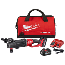 Milwaukee – 2811-22 M18 FUEL SUPER HAWG Right Angle Drill Kit with QUIK-LOK™