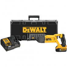 DEWALT – DCS380P1 – 20V MAX Cordless Reciprocating Saw Kit