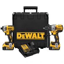 DEWALT – DCK299P2 – 20V MAX Cordless Brushless XR® Hammerdrill & Impact Driver Combo Kit (5.0AH)