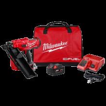 Milwaukee – 2745-21 – M18 FUEL™ 30 Degree Framing Nailer Kit