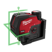 Milwaukee – 3622-21 – M12™ Green Cross Line & Plumb Points Laser Kit