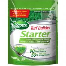 Scotts® Turf Builder® Starter® Lawn Food For New Grass 24-25-4, 1.4 kg