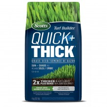 Scotts® Turf Builder® Quick + Thick™ Grass Seed Sun – Shade 12-0-0, 4 kg