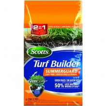 Scotts® Turf Builder® SummerGuard® Lawn Food 34-0-0 with EveryDrop® Technology, 4 kg
