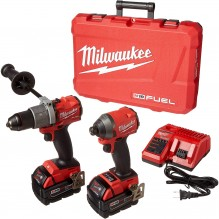 Milwaukee – 2997-22 – M18 FUEL™ 2-Tool Combo Kit: Hammer Drill/Impact