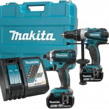 Makita – DLX2005T – 18V (5.0 Ah) LXT 2 Tool Combo Kit