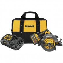 DeWalt – DCS578X1 – FLEXVOLT® 60V MAX* Brushless 7-1/4″ Cordless Circular Saw With Brake Kit