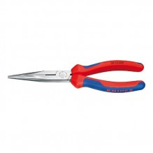 Knipex – 2612200SBA – 8″ Long Nose Pliers with Cutter with Comfort Grip