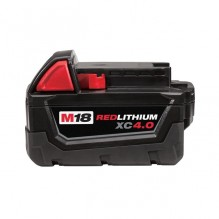 Milwaukee – 48-11-1840 – M18 Redlithium XC 4.0 Extended Battery Pack