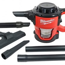Milwaukee – 0882-20 – Tool M18 18V Lithium-Ion Cordless Compact Vacuum (Tool Only)
