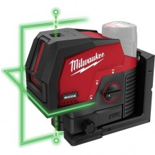Milwaukee – 3622-20 – M12 Green Cross Line and Plumb Points Laser