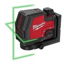 Milwaukee – 3521-21 – USB Rechargeable Green Cross Line Laser