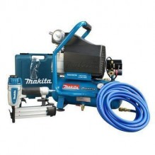 Makita MAC700-KIT3 2 H.P. Air Compressor and Brad Nailer Kit