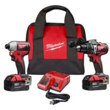 Milwaukee 2893-22 M18 Brushless 2-Tool Combo Kit